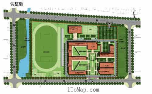 校园空地快题设计图
